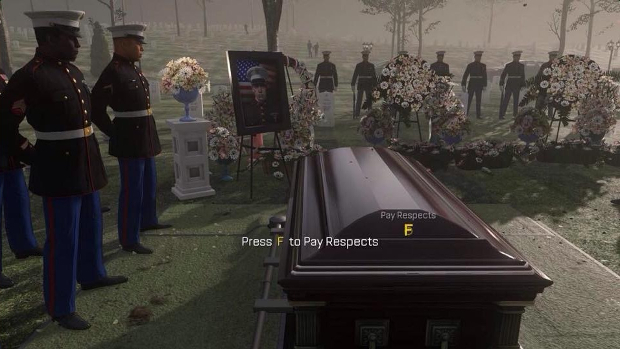 Press F to Pay Respects Call of Duty Advanced Warfare