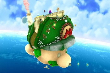 Super Mario Galaxy 2 World