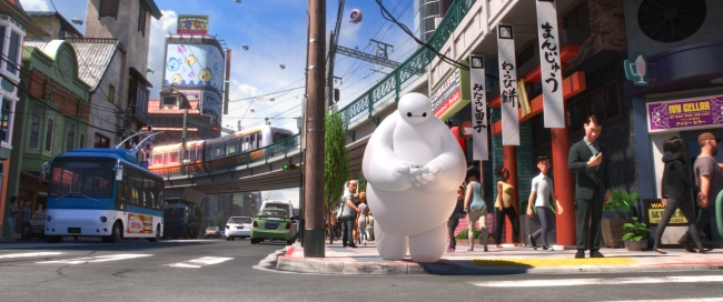 big hero 6 baymax san fran
