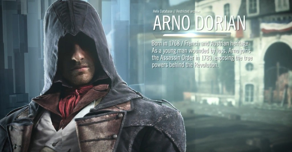 ac unity arno character description