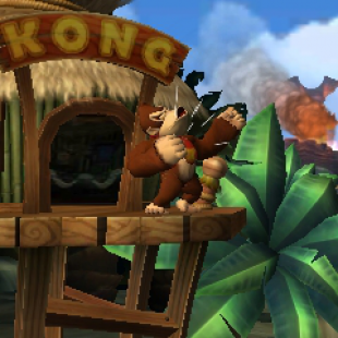 Donkey Kong Country Returns 3D Screen 01
