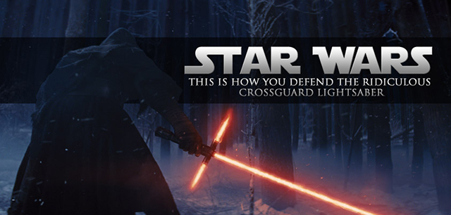 Star Wars Crossguard Lightsaber
