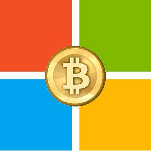 Microsoft Bitcoin 310x