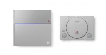 PlayStation 4 Anniversary Edition social