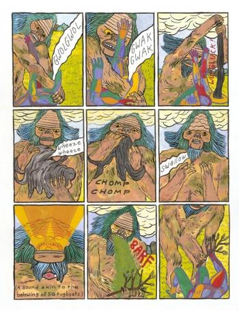 Comics Art Forming