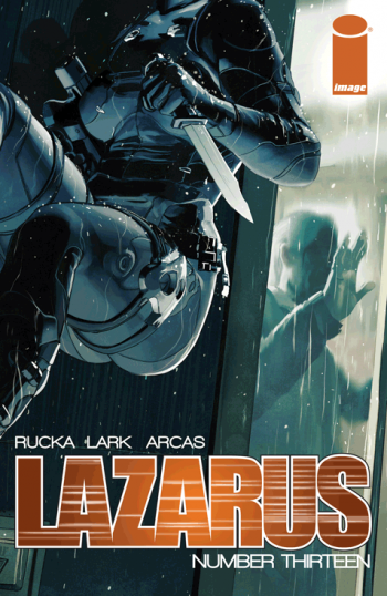 Comics Writing Lazarus