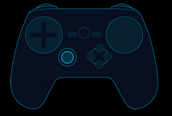 new steam controller redesign