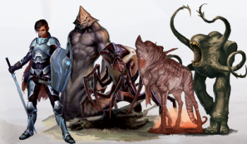 ninth world bestiary spread