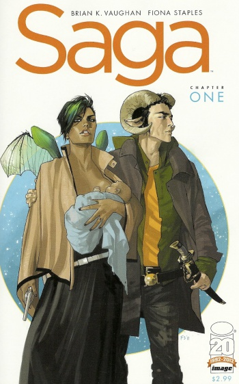 Saga Chapter One Cover