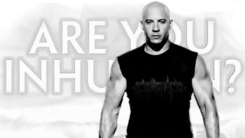 Vin Diesel Inhumans