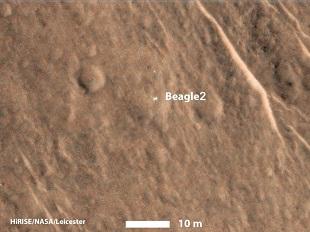 ESA Beagle 2 Satellite Footage 310x