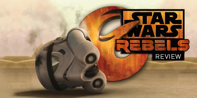 Star Wars: Rebels Review Season 1 Episode 10 Vision of Hope social
