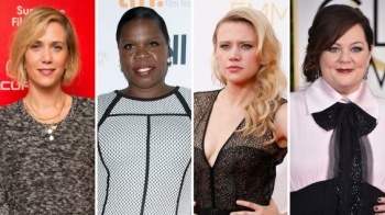 Female Ghostbusters cast