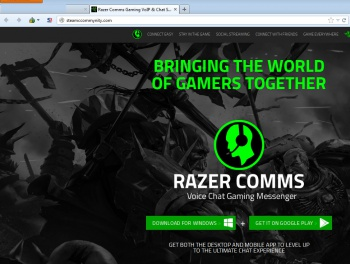 fake steam razer page
