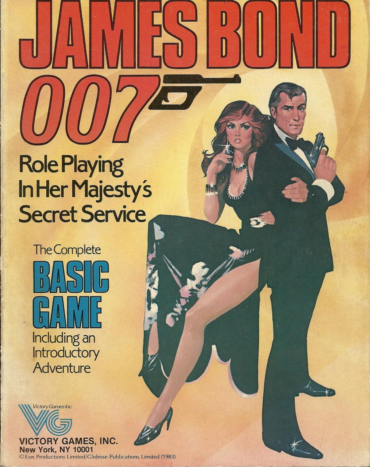 James Bond 007 Manual Cover