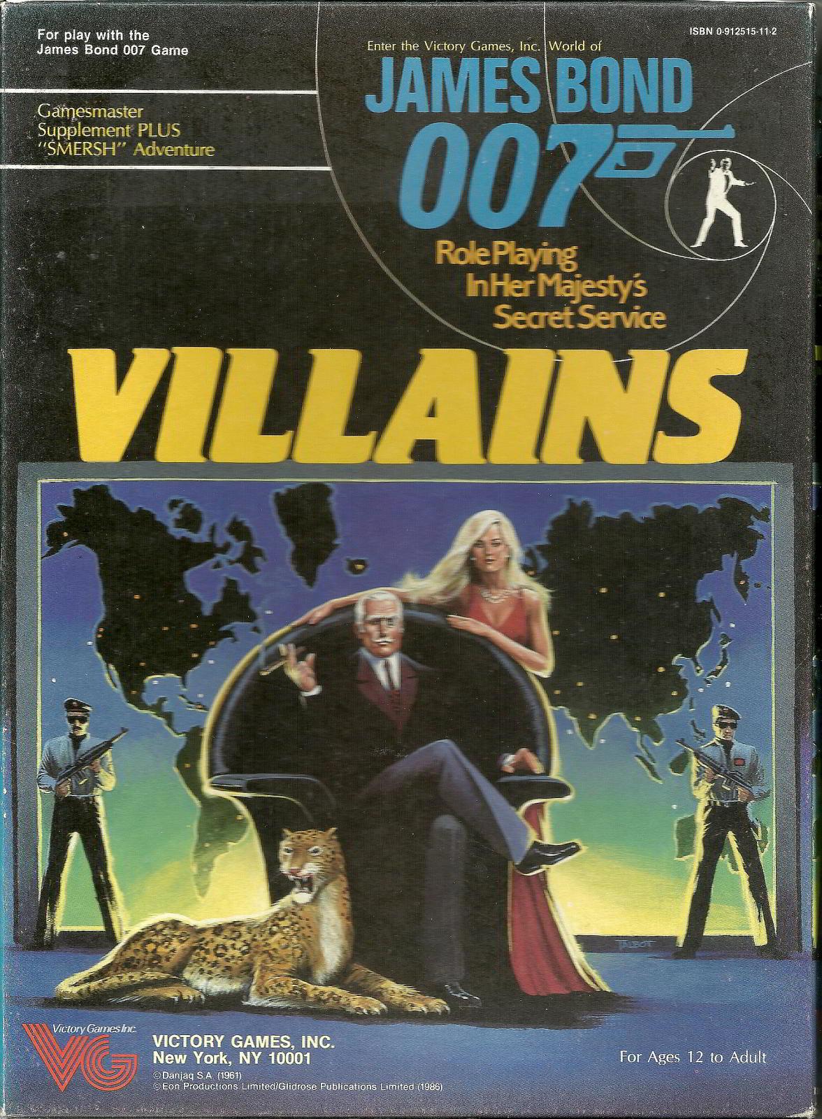 James Bond 007 Villains