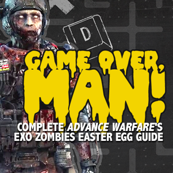 Game Over, Man! Exo Zombies Easter Egg Guide