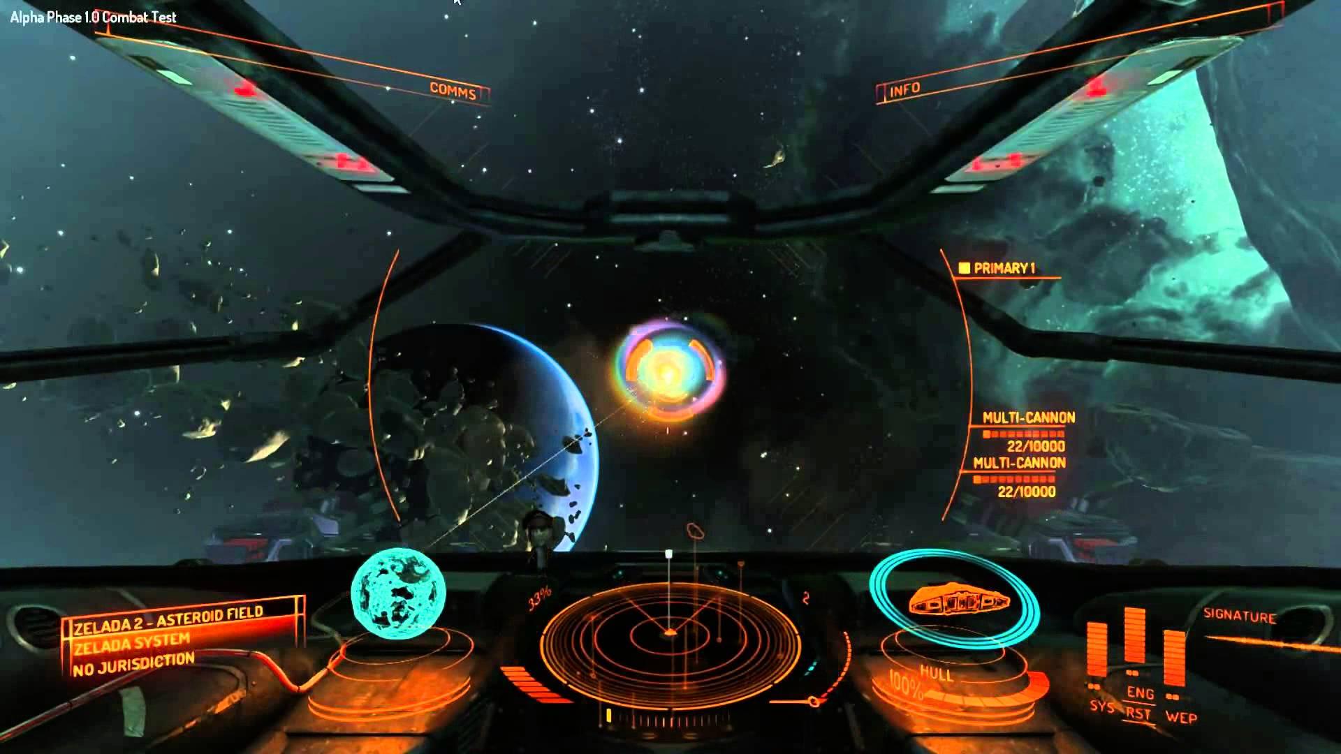 elite dangerous game engine