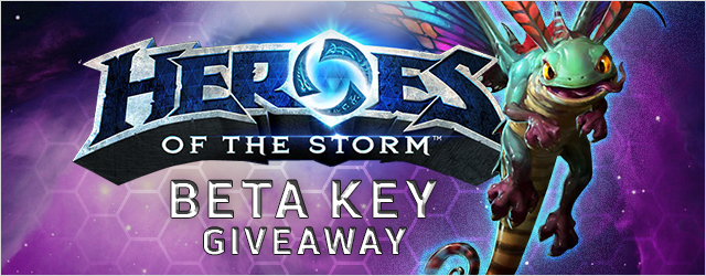 Heroes of the Storm Beta Key Giveaway Main