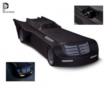 dc collectibles 2015 animated batmobile