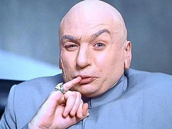 dr evil 1 million dollars