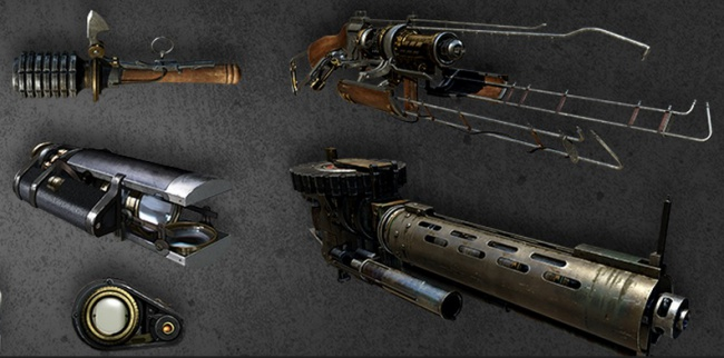 The Order: 1886 weapons