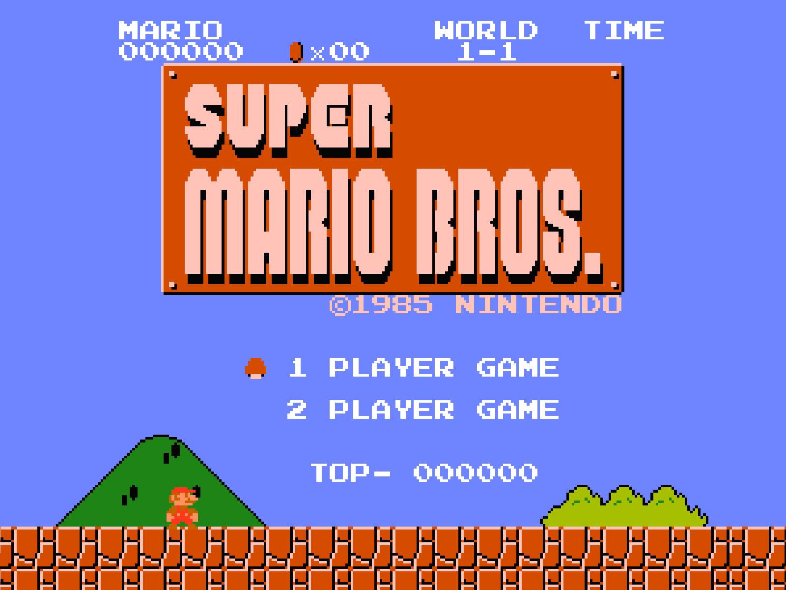Dying Light Super Mario Bros Logo Large
