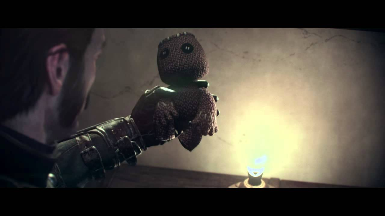 Order 1886 Sackboy Easter Egg