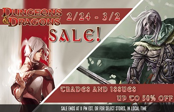 Comixology D&D Sale