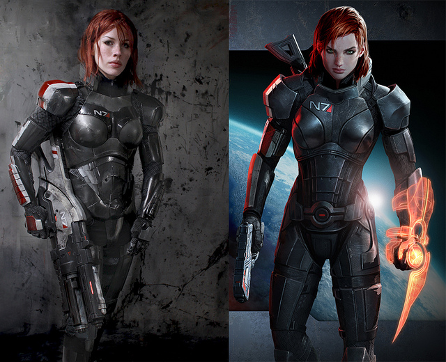 Mass Effect Fan Creates Epic Commander Shepard Costume The