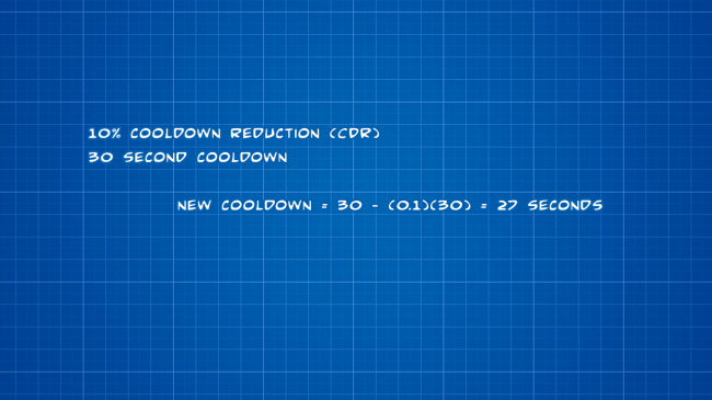 Cooldown reduction 1