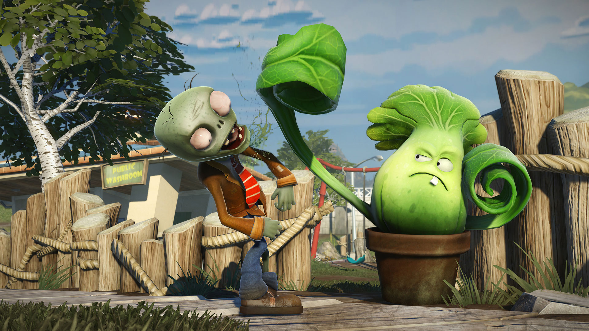 Dying Light Plants vs Zombies Logo Large