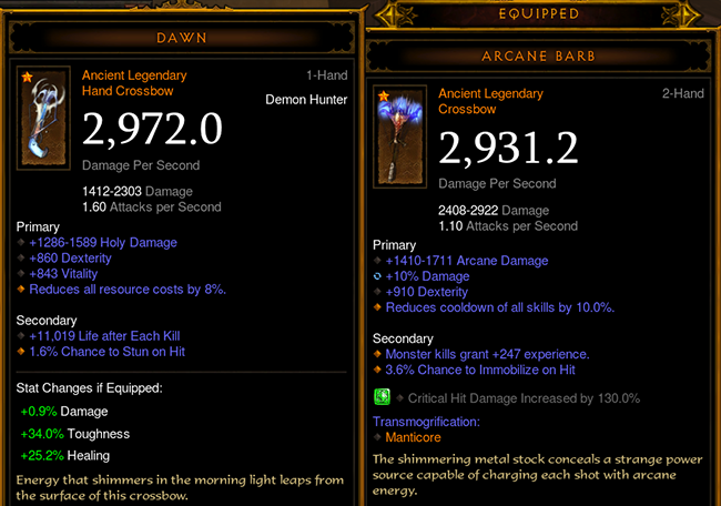 Diablo  Build Calculator