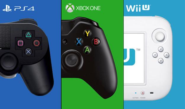 PS4 Xbox One Wii U