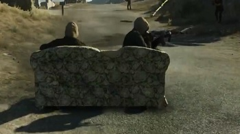Battlefield Hardline Couch Vehicle Easter Egg