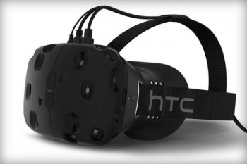 htc and valve VR headset vive