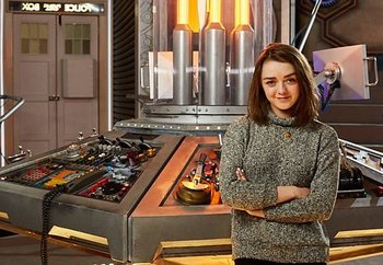 Maisie Williams Joins Doctor Who