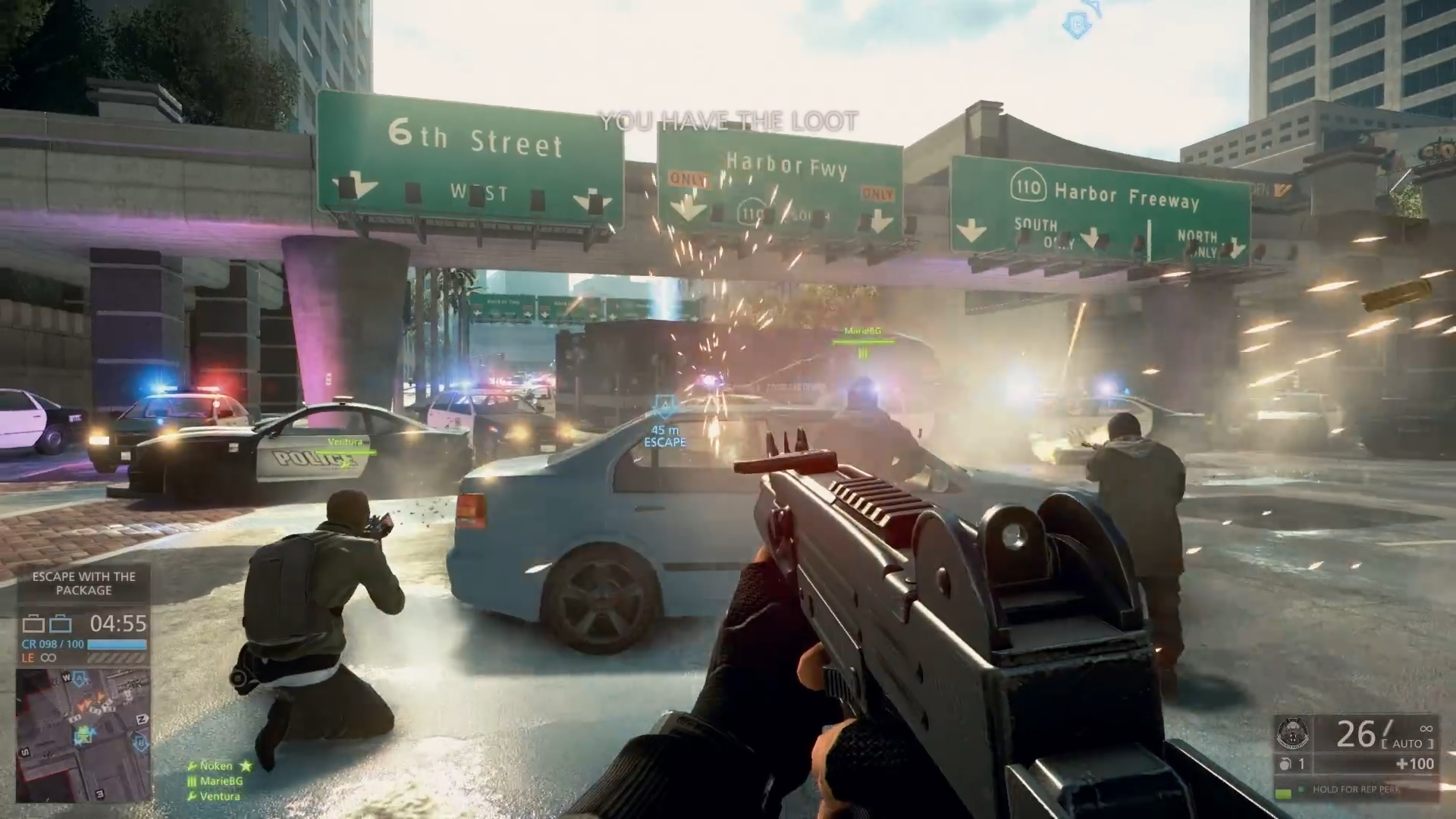 Battlefield Hardline Multiplayer