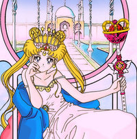 sailor moon tarot card the emperess