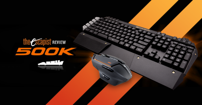 Cougar 500K and 600M Keyboard and Mouse Review social