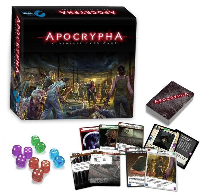 apocrypha adventure card game box