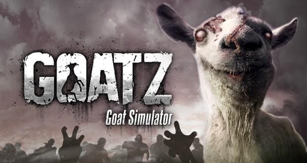 Goat Sim GoatZ Logo