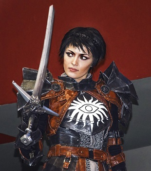 Dragon Age Fan Becomes Cassandra in Amazing Inquisition Cosplay. Cassandra  sc 1 st  The Escapist & Dragon Age Fan Becomes Cassandra in Amazing Inquisition Cosplay