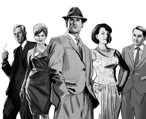 the societal aspects in mad men a television show by mathew weiner