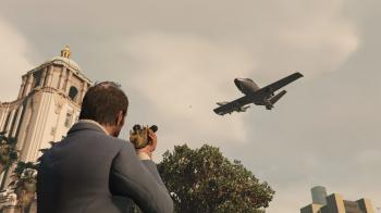 GTA V Angry Planes