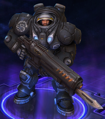 Raynor Heroes Of The Storm