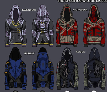 Hoodie Design Ideas better designs lead to better results Bioware To Sell Fan Designed Mass Effect Hoodies