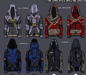 BioWare to Sell Fan-Designed Mass Effect Hoodies | The Escapist