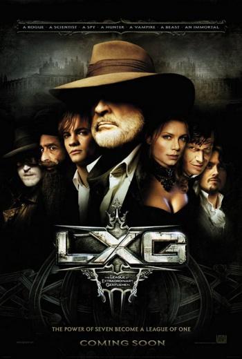 League of Extraordinary Gentlemen Movie Poster
