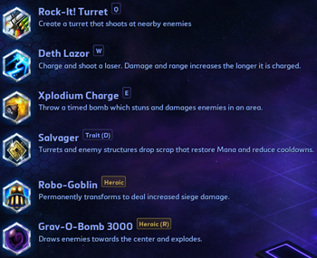 Gazlowe Talents Heroes of the Storm